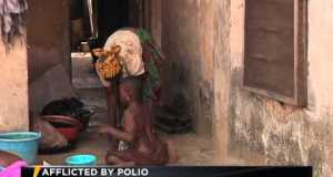 Video: Challenges of a 10-year-old girl with Polio