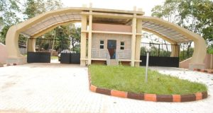 Godfrey Okoye University  African decision makers to get biosafety training GOU Gate to permanent Site e1465321025494