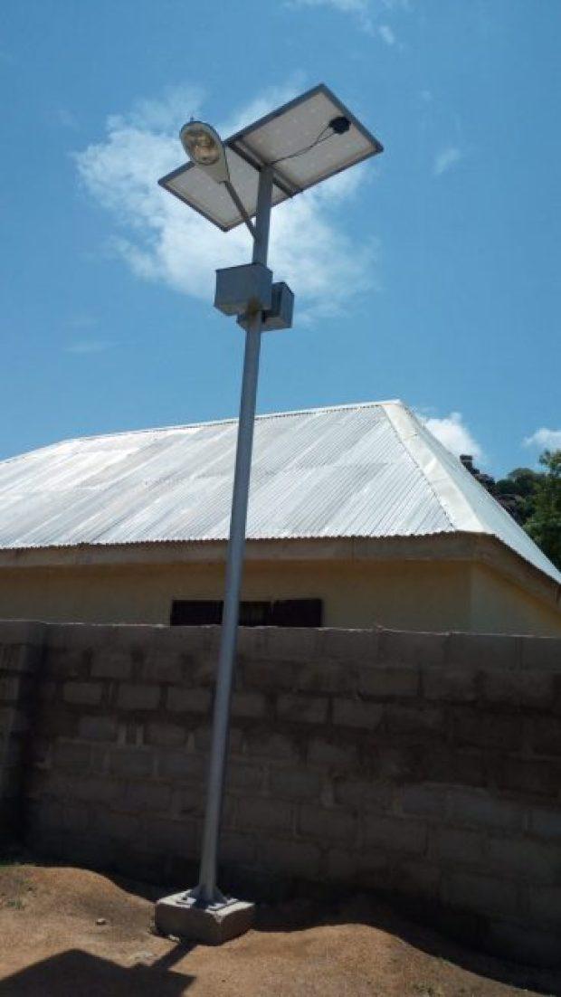 Outdoor community lighting in Gaya Silkami  Images: Solar brightens insurgency-hit villages in Adamawa Gaya8 e1466871900698