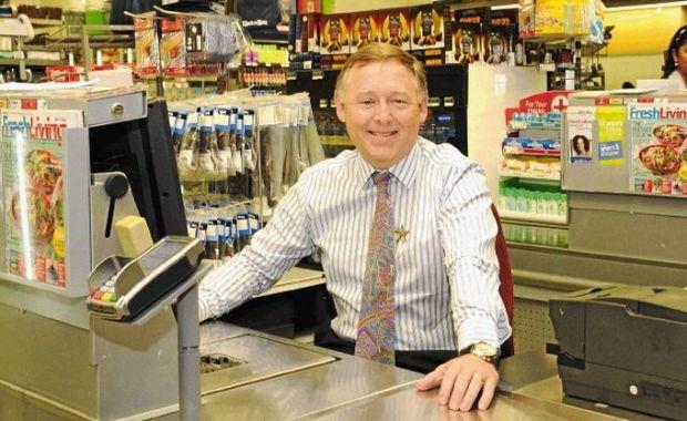 Pick n Pay's CEO, Richard Brasher  Greenpeace demands retailer's total commitment to renewable energy RichardBrasherXXX