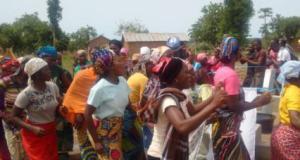 Unguwa Kanti community  Military eases water shortage in Kaduna community, constructs borehole women