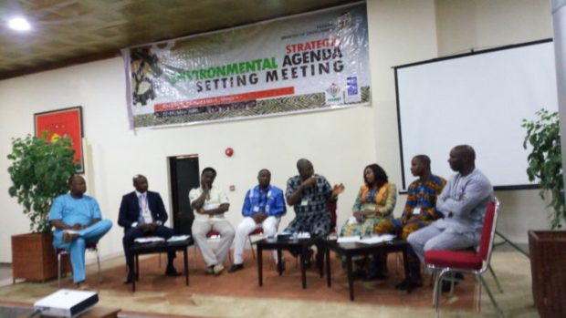 Panel 2: Pollution and clean up (Oil, industrial effluents), Water, Wastes (Solid waste, medical waste, military waste etc.), comprising Celestine Akpobari, Ken Henshaw, Prof Ife Ken, Kola Lawal, Emem Okon and Akinbode Oluwafemi (facilitator)  Land, biosafety laws may be repealed under proposed agenda Agenda e1468387910336