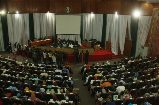 The National Confab during a session in 2014  What the National Confab agreed to on biosafety, GMOs Confab e1467389543122