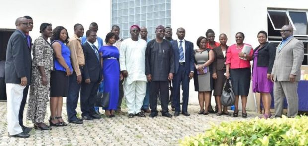 Participants at the Dialogue  Experts seek incentives for climate-resilient, low-carbon investment FUTA e1467847071630