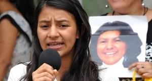 LAURA-ZUÑIGA  Laura Zuñiga, slain Berta Cáceres' daughter, demands justice LAURA ZU  IGA