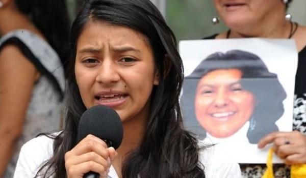 Laura Zuñiga Cáceres. Photo credit: nodal.am