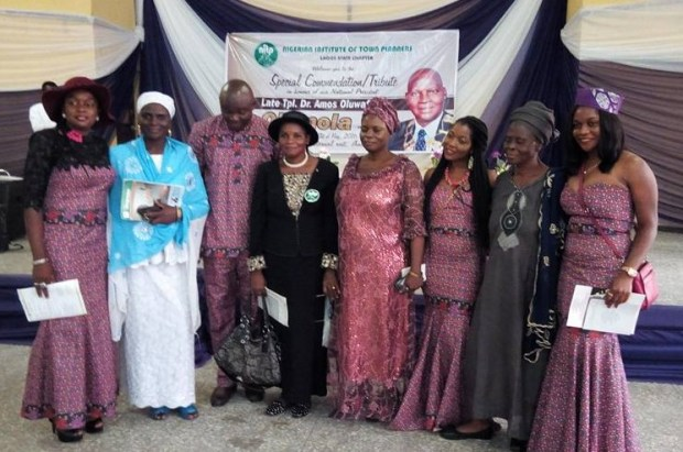 The Olomola Family at the Service of Songs & Tributes