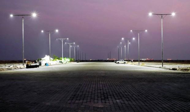 Eko Atlantic City  Eko Atlantic City completes eight-lane Eko Boulevard eko 2