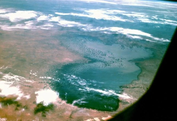 Lake Chad  EU releases €138m in humanitarian, devt funding for Lake Chad region Lake Chad from Apollo 7 e1471356252783