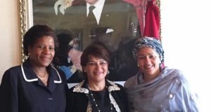 Hakima El Haite  Images: Amina Mohammed visits Morocco Mar3 e1472008321116