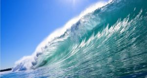 ocean-surf  Oceans began warming in the mid-1800s, study says ocean surf s up 463160 e1471976397216
