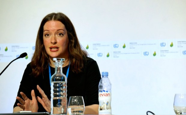 Liz Gallagher, Senior Associate, E3G. She says the Paris Agreement is on track to break records as the international treaty fastest to become law