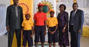 Mr. Igo Weli; Master Anioki Godfirst  60 Niger Delta students get Shell scholarships image006