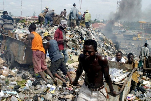 Activities of PSPs operators, the ageing equipment they deploy, sharp practices by cart pushers, and the sorry state of the waste dump sites have all colluded to put the waste management and disposal situation in Lagos in a state of desperation  Towards a better waste management regime in Lagos Lagos waste refuse dump