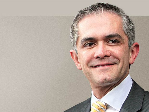 Mayor of Mexico City and C40 Vice Chair, Miguel Ángel Mancera. World's major cities mayors are seeking assistance to finance low-carbon and sustainable projects  Cities request support for transition to low carbon Miguel Angel Mancera