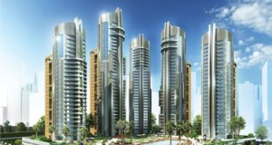 An impression of the Eko Pearl Towers