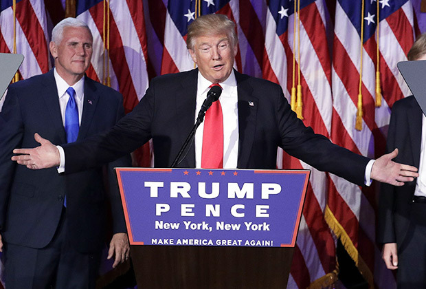 US president-elect, Donald Trump, delivering his victory speech   Donald Trump, Africa and the Paris Agreement donald trump victory speech video