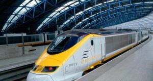 Modern trains are energy efficient and low in carbon emission