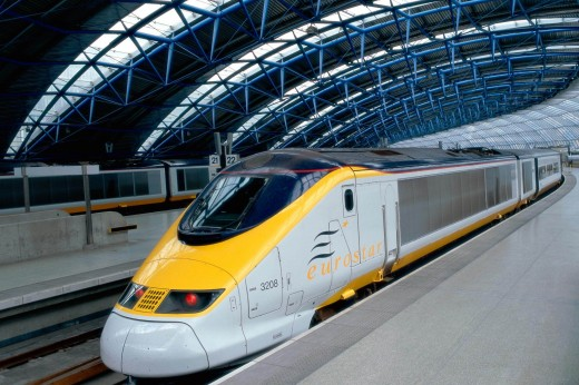 Modern trains are energy efficient and low in carbon emission  Railway sector on track to achieve low carbon goals Modern Trains Wallpaper 520x346