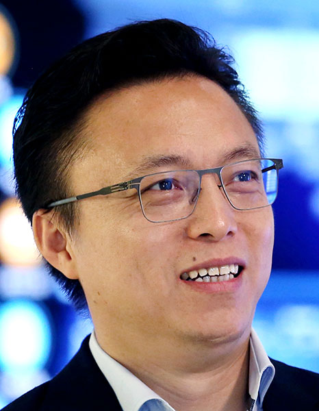 Eric Jing  New digital platform to boost green finance Eric Jing