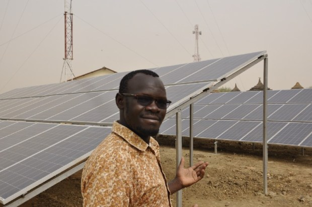 South Sudan  How South Sudan radio station runs entirely on solar power Panels