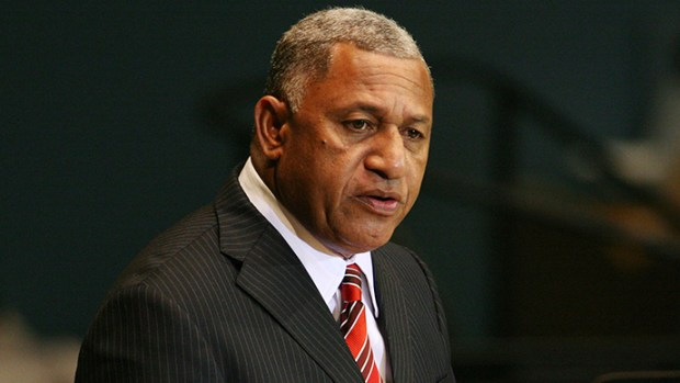 Fiji  Bainimarama tags battling ocean pollution, climate change a 'two-front war' Voreqe Bainimarama
