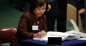 Hilda-Heine  Marshall Islands makes history again, becomes first nation to ratify Kigali Amendment Hilda Heine