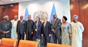 Ibrahim Jibril  Images: Amina Mohammed sworn in as Deputy UN Secretary General UN5 e1488301342685