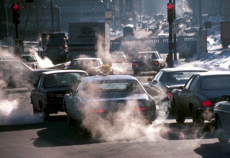 car pollution statistics