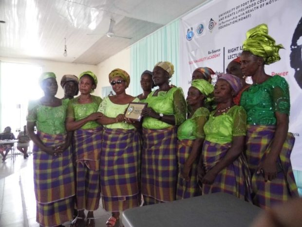Rumuekpe Women  International Women's Day for Peace and Disarmament: Women have been victims of crises – Sustainability Academy Award to Rumuekpe Women Prayer Warriors e1496267569571
