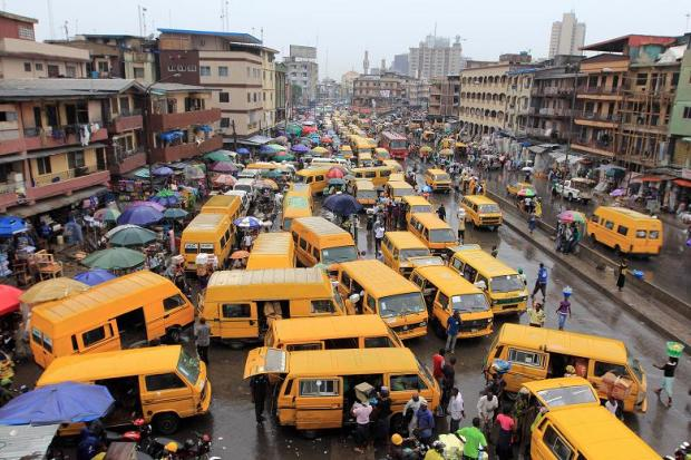 Danfo-bus-Lagos  30m people will live in Lagos by 2035, say researchers Lagos Danfo bus
