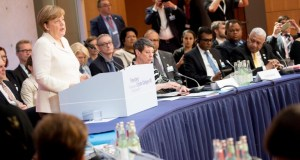 Angela Merkel  Nations restate commitment to Paris Agreement germany petersberg dialogue merkel