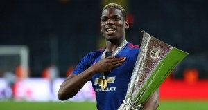 Paul Pogba  Pogba dedicates Europa trophy to Manchester victims paul pogba