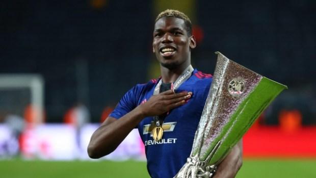 Paul Pogba  Pogba dedicates Europa trophy to Manchester victims paul pogba