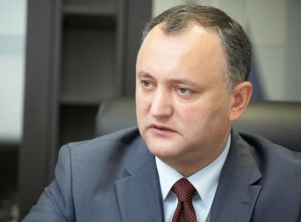 Igor-Dodon  Moldova ratifies biosafety protocol Igor Dodon