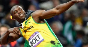 Usain Bolt  Usain Bolt wins 100m in slow start usain bolt e1498744565983