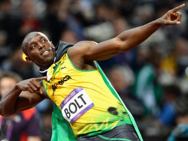 Usain Bolt  Usain Bolt wins 100m in slow start usain bolt e1498744565983