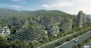 Forest City  Images: China plans 'forest city' Forest city1