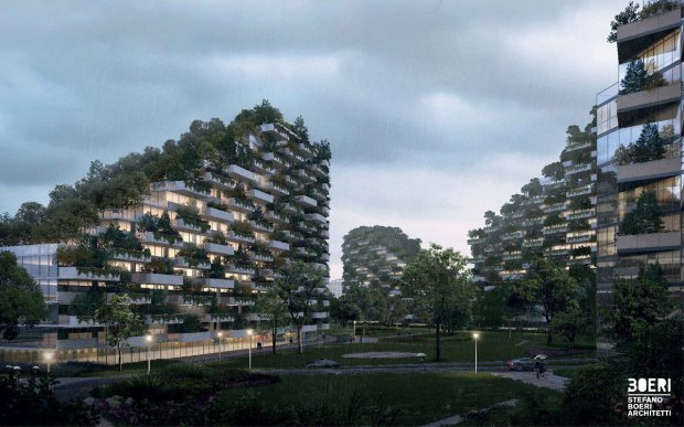 Forest City3  Images: China plans 'forest city' Forest city3