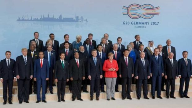 G20  G20 Summit: Reactions trail world leaders' commitment to tackle climate change G20 e1499618246963