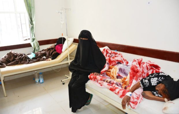 Yemen cholera  Images: How Yemen struggles against cholera Yemen2 e1501189036871