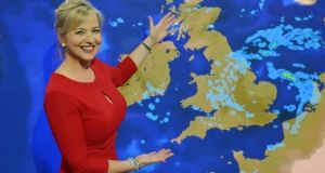 weather presenters-Carol Kirkwood
