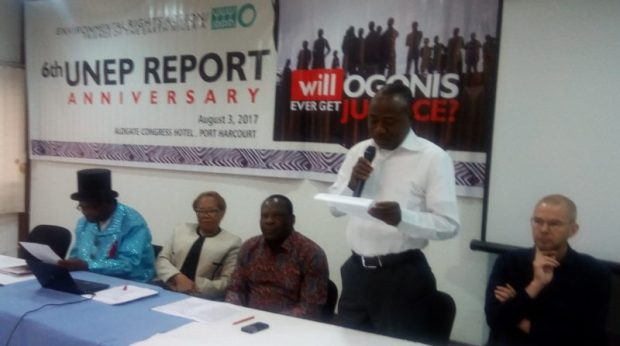 ERA Ogoniland  A year after flag-off, government asked to immediately commence Ogoniland clean-up ERA e1501766984536