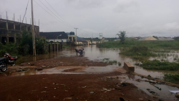 Makurdi  Benue Speaker urges residents to avoid flood-prone areas Makurdi2 e1503977392612