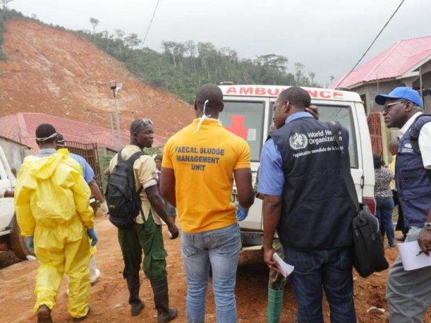mudslide  Sierra Leone mudslides: UN moves to curb spread of diseases Mudslide e1503332128169