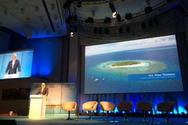 Peter Thomson  World Water Week: Sanitation goals need major push, says Thomson Thomson