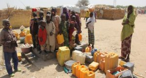 WHO IDP camp  'Nigeria yet to tackle basic water, sanitation challenges at 59' WHO e1504197012363