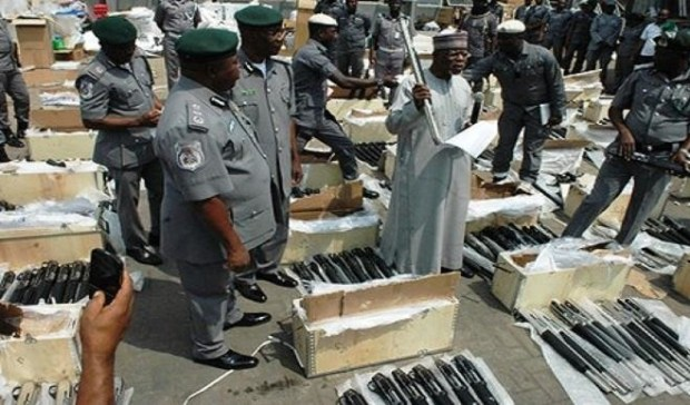 Illicit arms importation