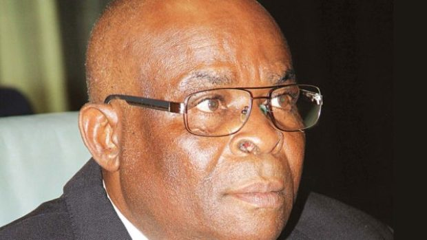 Justice Walter Onnoghen  NJC sets up panel to probe two chief judges, 13 others Justice Walter Onnoghen