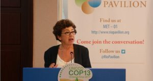 UNCCD COP13 - Monique Barbut